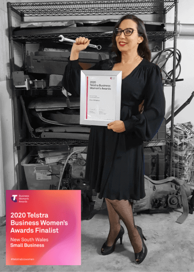 Eleni Mitakos Telstra Business Women's Awards 2020