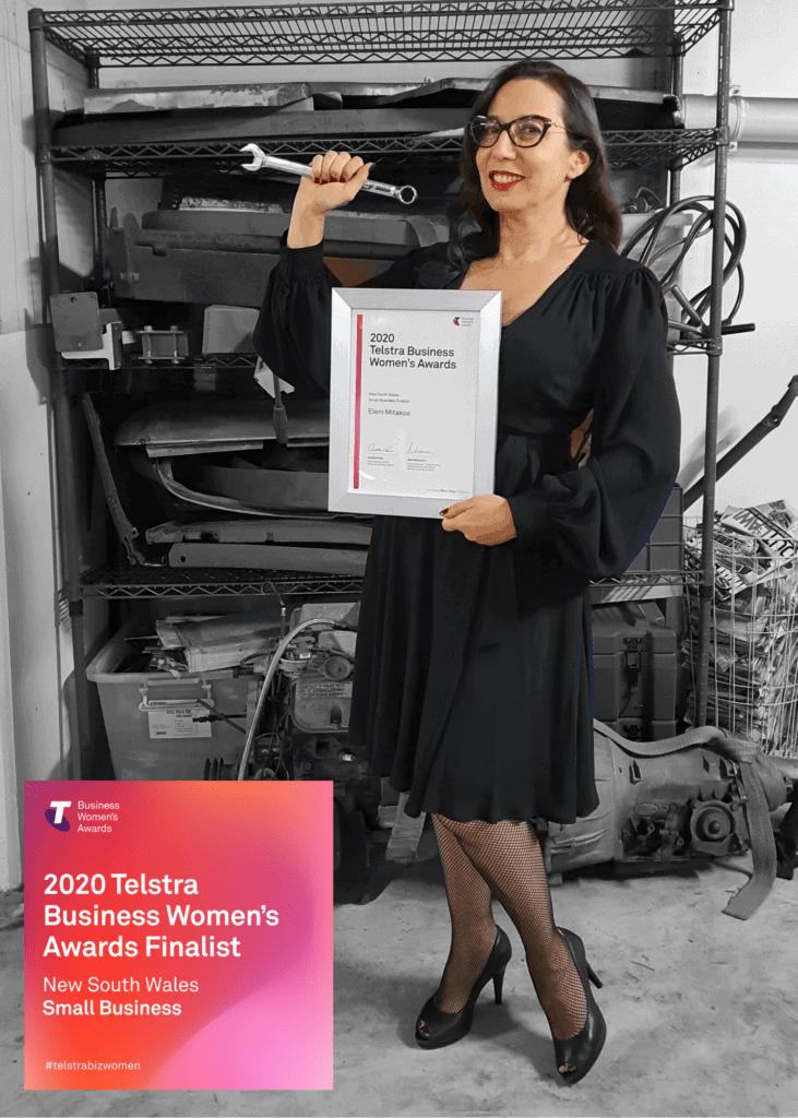 Eleni Mitakos Telstra Business Women's Awards 2020